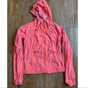 Lululemon vibrant pink hoodie sweater Sz 6